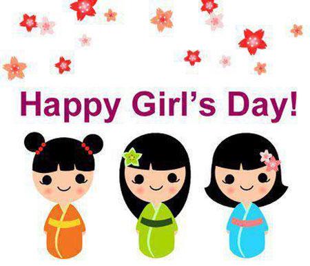کارت پستال دختر 11 عکس نوشته دخترانه تبریک روز دختر + متن تبریک روز دختر از طرف پدر و مادر عکس