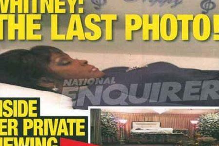 گران قیمت ترین عکس از جسد دختر خواننده!