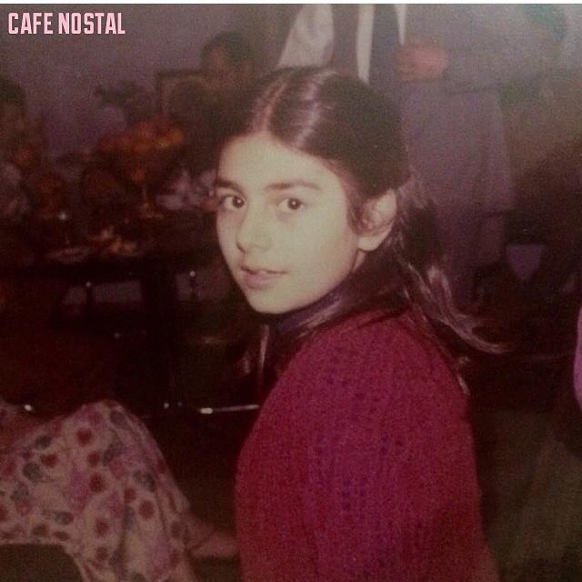 عکس دیده نشده از کودکی هنگامه قاضیانی