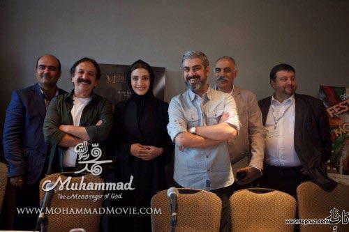 عکس جدید بازیگران فیلم محمد رسول الله در کانادا