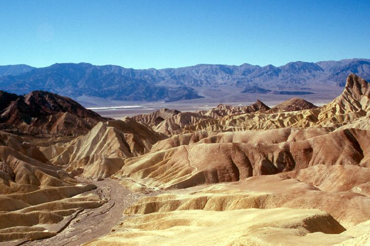 دره ی مرگ در آمریکا