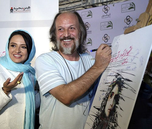 عکس گلاره عباسی همراه همسرش و تیپ گلاره پس از ازدواج