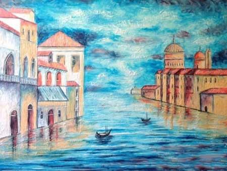 عکس از نقاشی های زیبا که با خمیردندان کشیده شده!