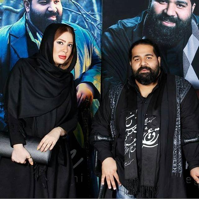 عکس ترانه مکرم در کنار رضا صادقی