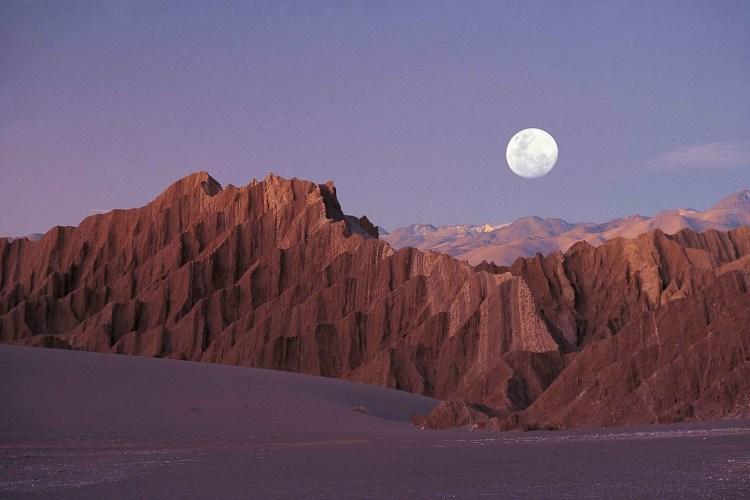 بیابان آتاکاما در شیلی