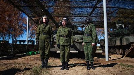 اخبار,اخبار گوناگون,خشن ترین سربازان زن دنیا