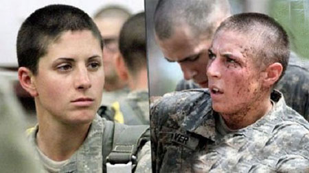 عکس هایی از سربازان زن خشمگین و حرفه ای!