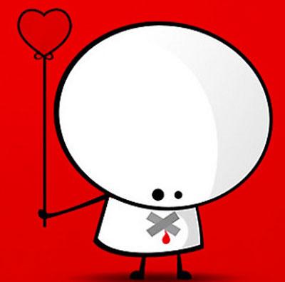پست عاشقانه فیس بوک, کارت پستال عاشقانه