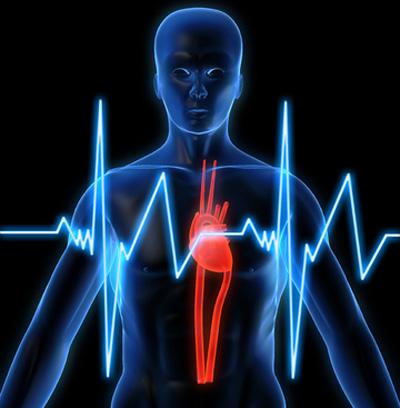 اختلالات قلبی, افزایش ضربان قلب