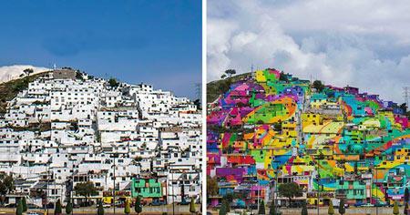 شهر Germen Crew,شهر رنگین کمانی, شهر رنگین کمان در مکزیک