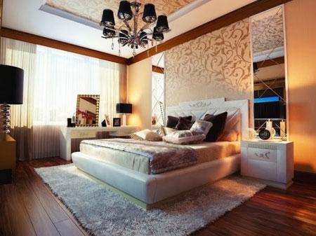 طراحی اتاق خواب های سلطنتی,شیک ترین دکوراسیون اتاق خواب