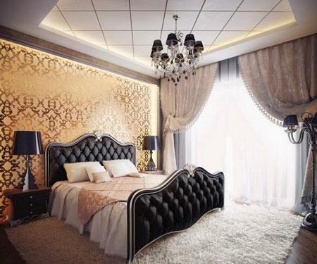 چیدمان و دکوراسیون اتاق خواب,طراحی های شیک اتاق خواب