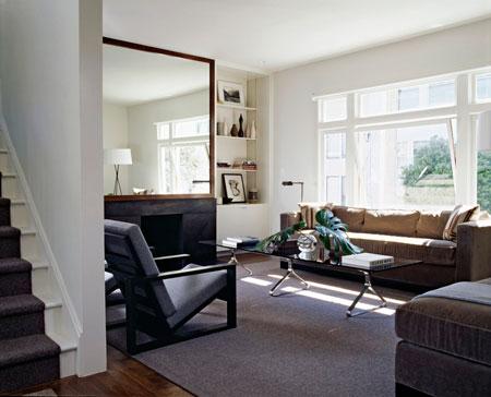 طرز چیدمان آپارتمان های کوچک,بزرگ نشان دادن خانه های کوچک