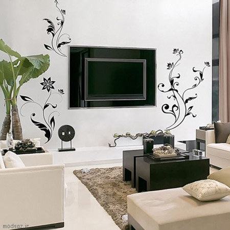 کاغذ دیواری های کاغذی,کاغذ دیواری های چرمی,تغییر فضای داخلی