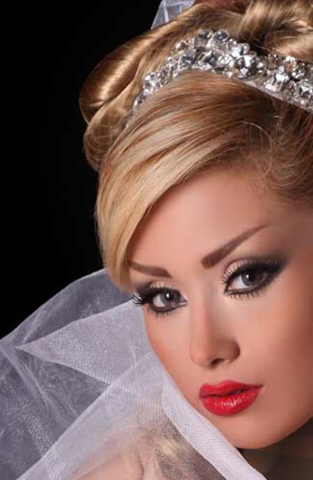 عکس آرایش عروس ایرانی