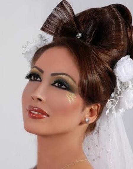مدل آرایش عروس ایرانی و مدل موی عروس ایرانی