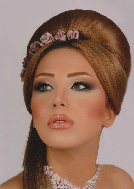 عکس دختر ایرانی ارایش