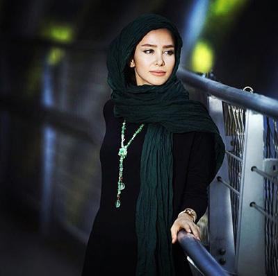 عکس های دیدنی الناز حبیبی در یکی از پارک های تهران