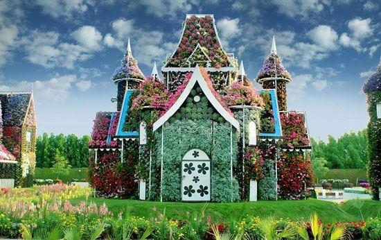 عکس های انرژی بخش زیباترین باغ های گل دنیا
