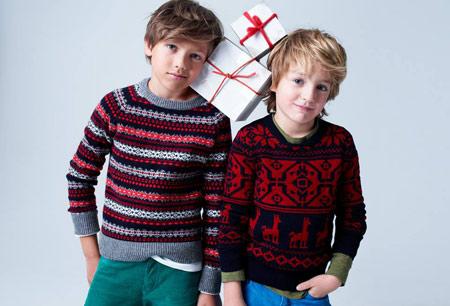مدل پلیور و سویشرت بافت پسرانه