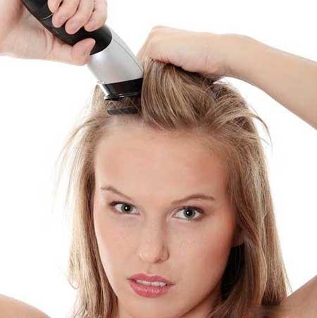 تراشیدن مو