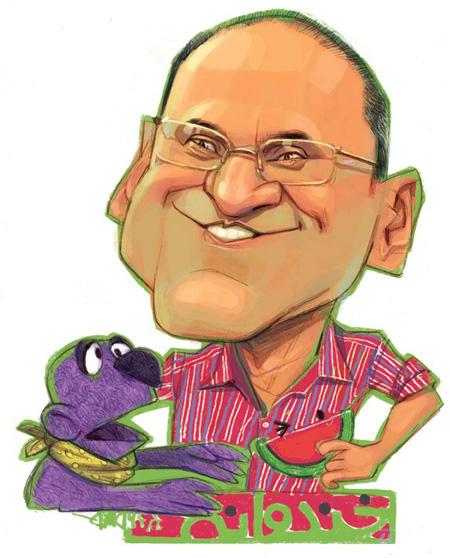 عکس کاریکاتورهای بامزه و خنده دار جناب خندوانه و رامبد جوان