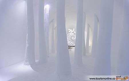 سوئیت ها و اتاق های یخی جاذبه گردشگری زیبا در سوئد