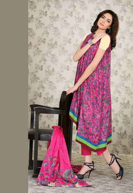 مدل لباس زنانه شیک پاکستانی 2016