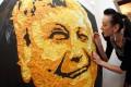 نقاشی هایی جالب که با آدامس کشیده شده اند