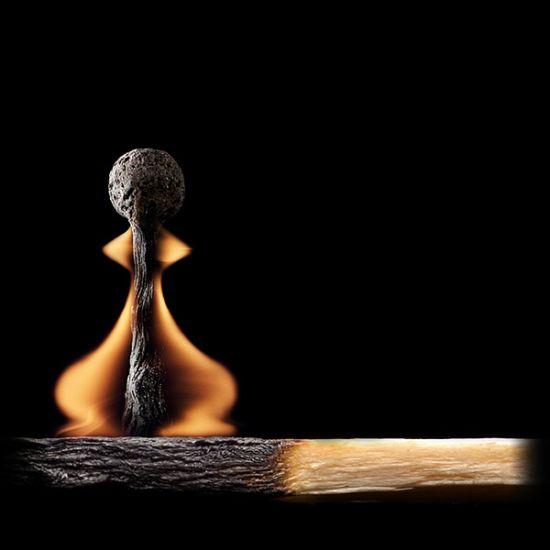 عکس های جالب هنرنمایی با کبریت سوخته