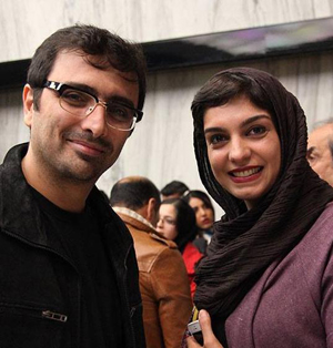 زوج موفق و هنرمند الیکا عبدالرزاقی و امین زندگانی