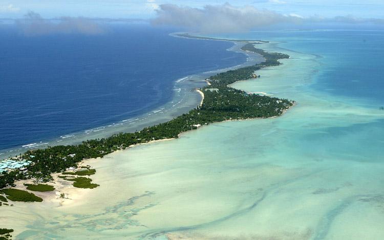 کشور کم بازدید کیریباتی