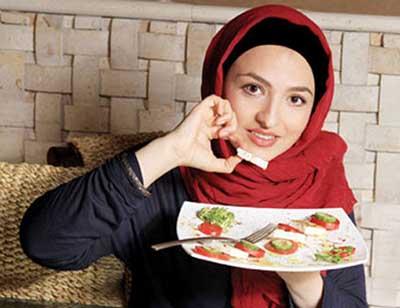 گلاره عباسی، یک شکموی تمام عیار!