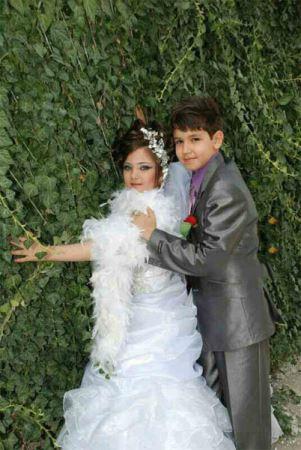 عکس های جنجالی مراسم عروسی دختر و پسر بچه ایرانی
