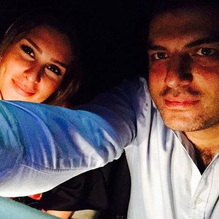 عکس جدید سام درخشانی و همسرش در خودرویشان
