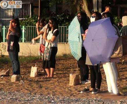 روش عجیب زنان چینی برای لاغری : تماشای خورشید! +عکس
