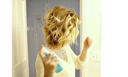 مدلهای موی مواج