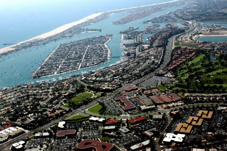 جزیرهی Balboa، کالیفرنیا، آمریکا