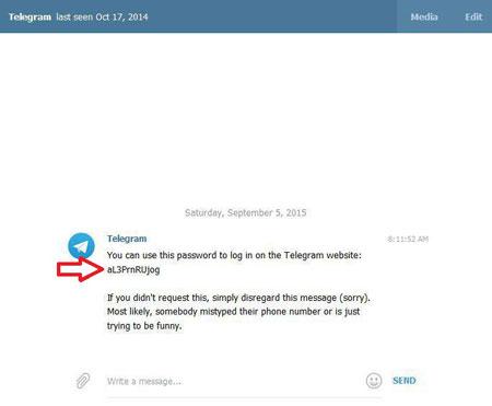 اکانت تلگرام, سیستم عامل اندروید