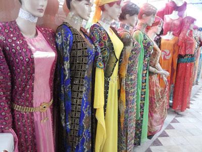 لباسهای زیبای محلی, مدل لباس