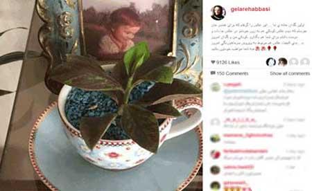 تصاویری که گلاره عباسی از جهیزیه اش منتشر کرد
