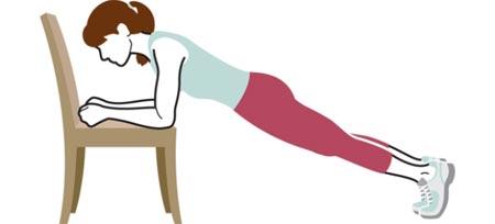 ورزش,تمرینات قدرتی,حرکات ورزشی با صندلی