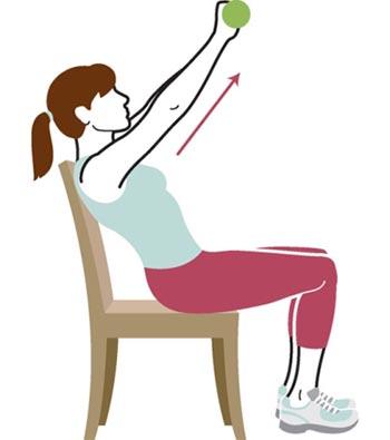 ورزش,حرکات ورزشی با صندلی,تمرینات قدرتی