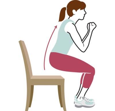 تمرینات قدرتی با صندلی,تمرینات قدرتی,حرکات ورزشی با صندلی