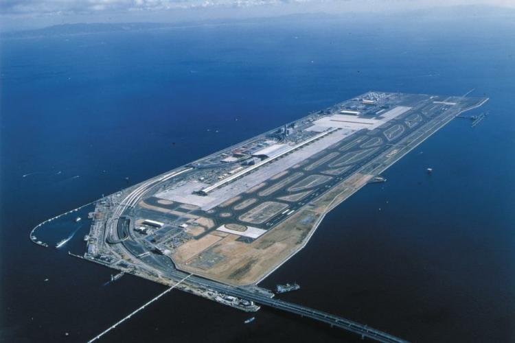فرودگاه بینالمللی کانزای (Kansa)، ژاپن