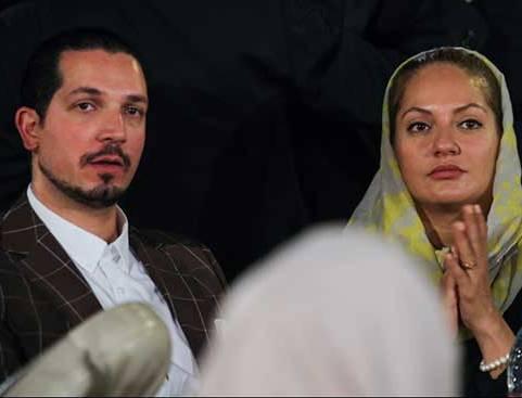 عکس مهناز افشار و همسرش در جشن خانه سینما
