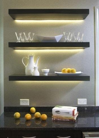 تزیین فضای داخلی ساختمان با نور مخفی