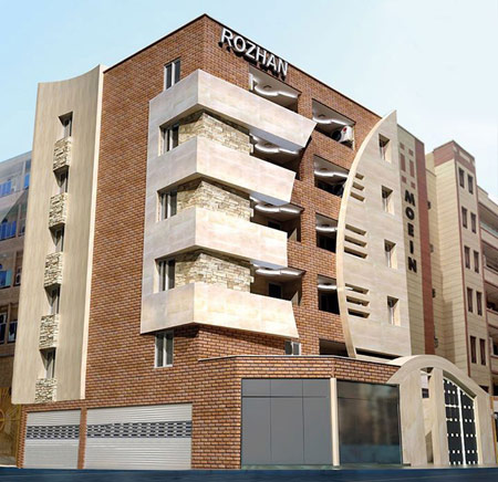 طراحی اصولی نمای ساختمان,نماهای ساختمان