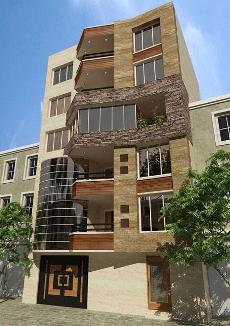 اطلاعاتی درباره اصول طراحی نمای ساختمان