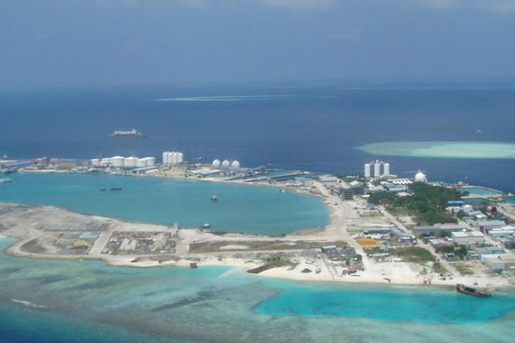 جزیرهی تیلافوشی (Thilafushi)، مالدیو